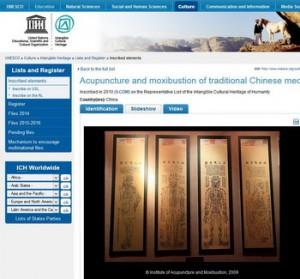 Acupuncture UNESCO