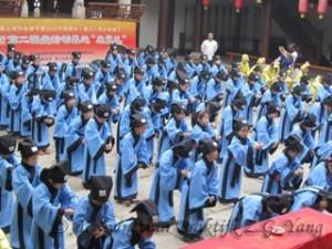 Confucianisme opleiding in school