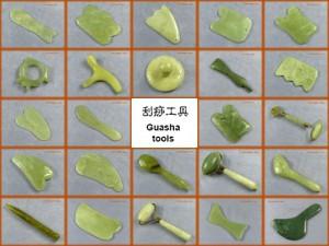 Jade guasha tools